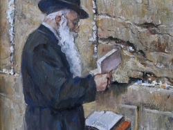 At the Wailing Wall 2012