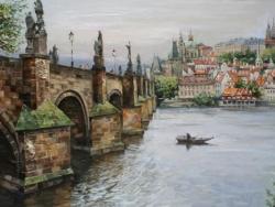Prague 2012 Painting