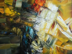 Golden dream 70x70cm 2012